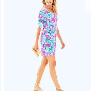 Lilly Pulitzer Dresses - Lilly pulitzer La Jolla dress lobsters in love